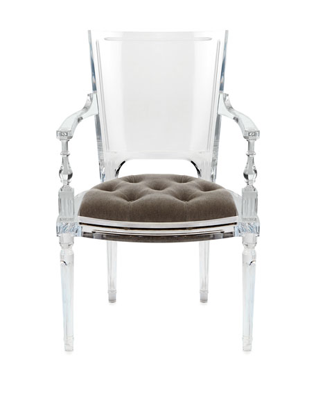 Katherine Acrylic Arm Chair