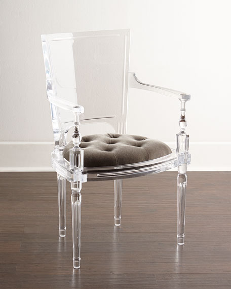 Superieur Global Views Katherine Acrylic Armchair
