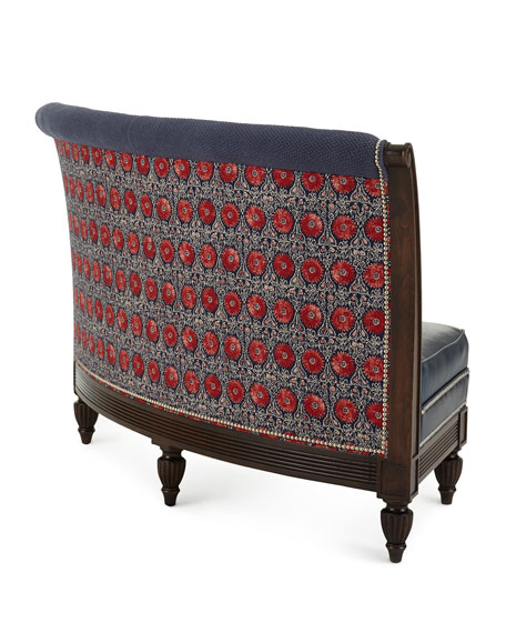 Noble Leather Banquette