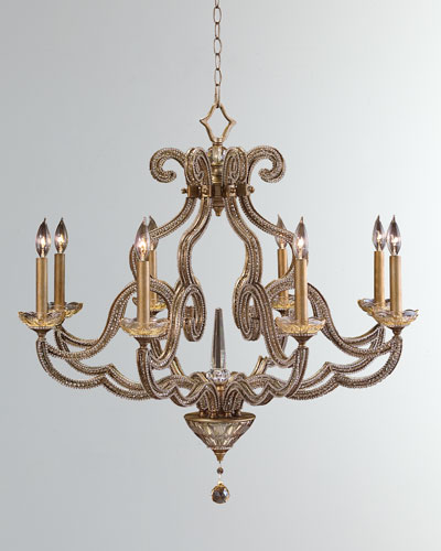 PARIS EIGHT LIGHT CHANDELIER