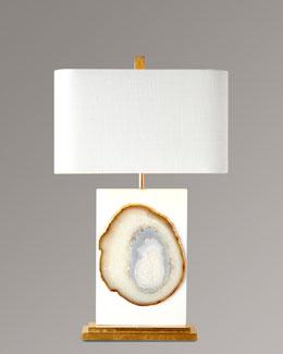 Bel Air Agate Table Lamp