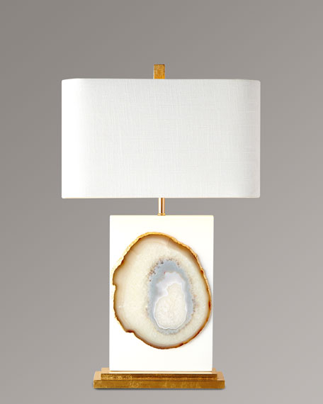 Bel air agate table lamp mozeypictures Gallery