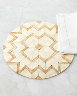 Deco-Cut Capiz Placemat