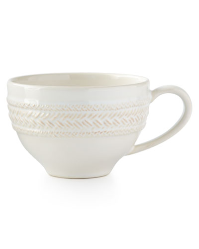 Le Panier Whitewash Tea/Coffee Cup