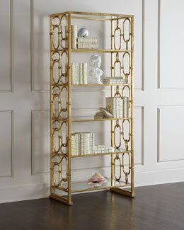 Golden Etagere