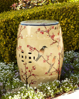 Magpie Plum Garden Stool