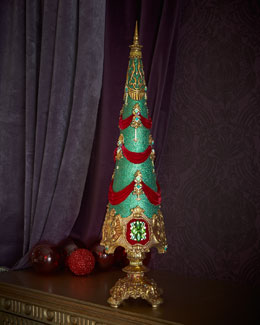 Jewel Sculpted Christmas Tree