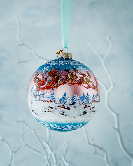 Up, Up, and Away Limited Edition Christmas Ornament