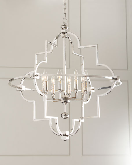 Open 8 light chandelier mozeypictures Choice Image