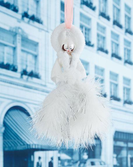 De Carlini Winter Lady Christmas Ornament