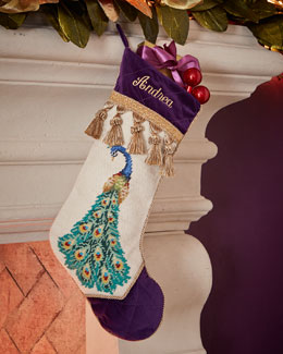 Peacock Stocking