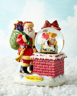 A Spectacular Entrance Snowglobe