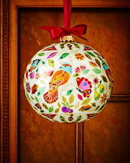 Partridge Limited Edition Christmas Ornament
