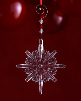Annual Snowstar Christmas Ornament