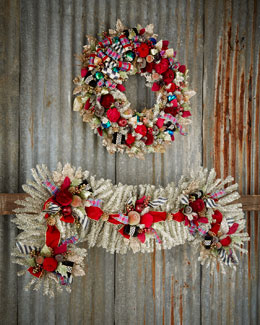 Holiday Frost Garland