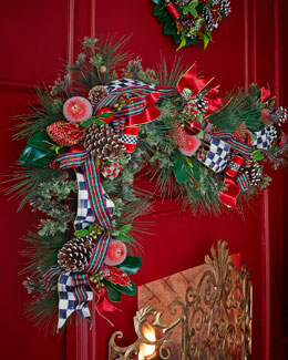 Courtly Christmas Garland