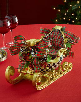 Courtly Check Sleigh