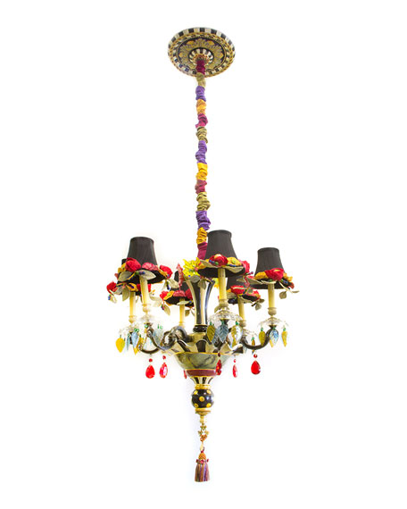 Dark Everlasting Small 6-Light Chandelier