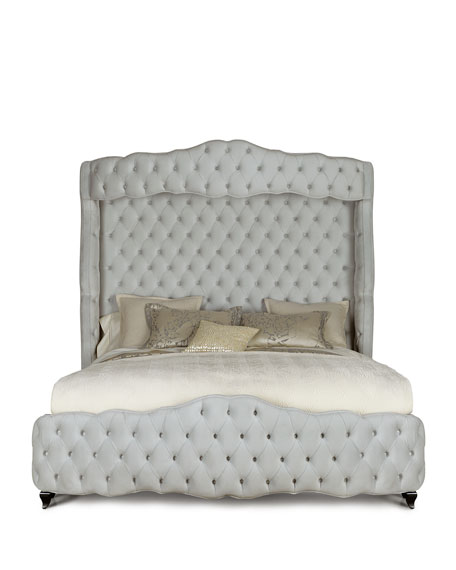 Grand Chez Tufted King Bed