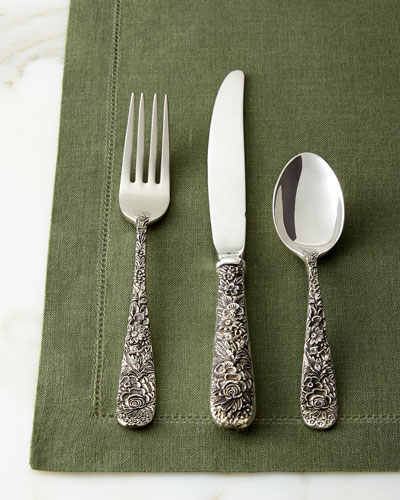65-Piece Old Bouquet Flatware Service