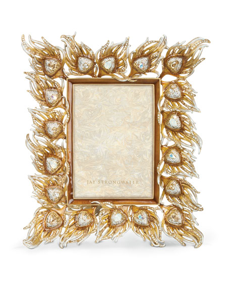 "Peacock Feather 5"" x 7"" Picture Frame"