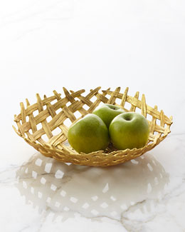 Palm Centerpiece Bowl