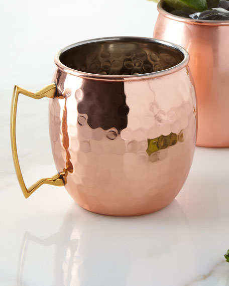 Hammered Moscow Mule Mug