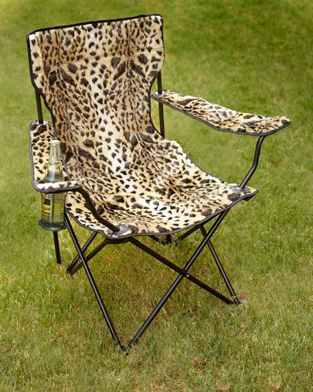Marvelous Leopard Print Folding Chair Theyellowbook Wood Chair Design Ideas Theyellowbookinfo