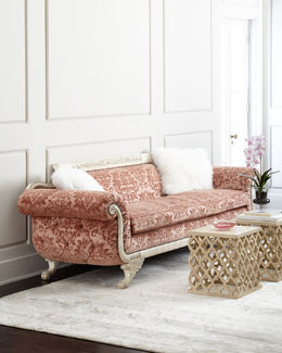Norris Tufted-Back Sofa