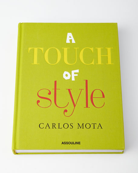 A Touch of Style Hardcover Book