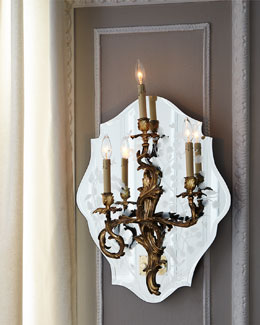 Canton Three-Light Sconce