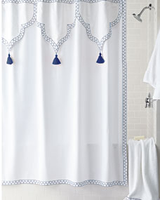 John Robshaw Iswar Shower Curtain