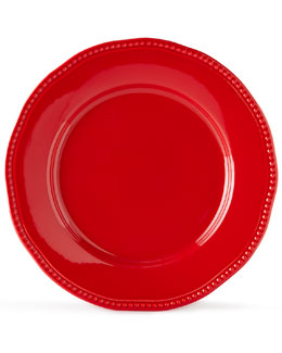 12-Piece Red Bistro Dinnerware Service