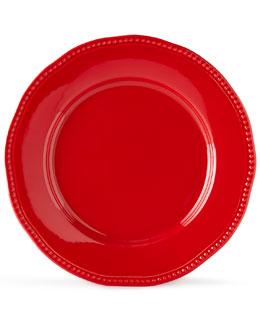 12-Piece Red Bistro Dinnerware Service
