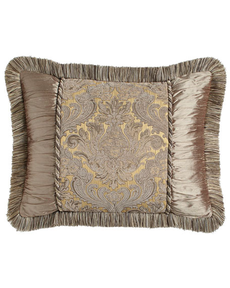 King Winter Twilight Sham with Fringe