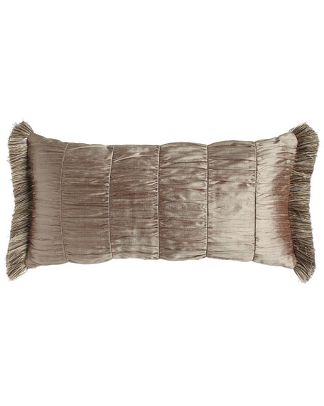 Winter Twilight Patch Pillow, 12