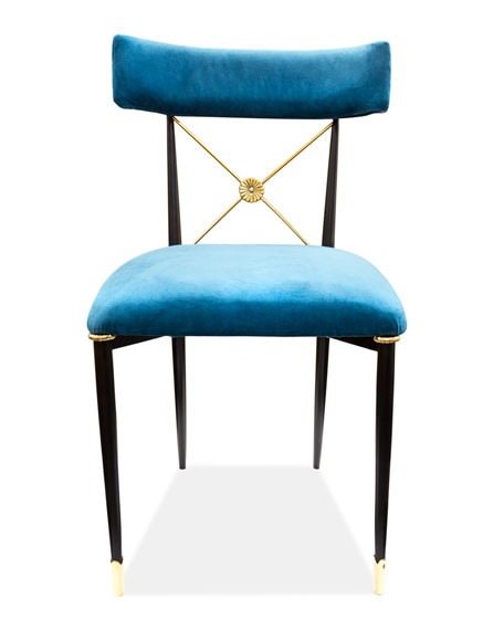 Jonathan AdlerRider Blue Dining Chair