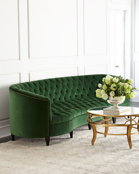 Old Hickory Tannery Eastman Tufted Sofa