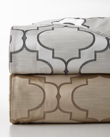 Queen 3-Piece Reversible Hutton Duvet Cover Set