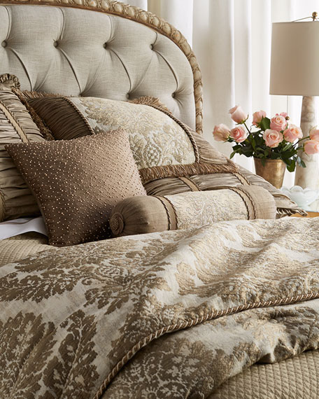 Austin Horn Collection Queen Vienna Damask Comforter