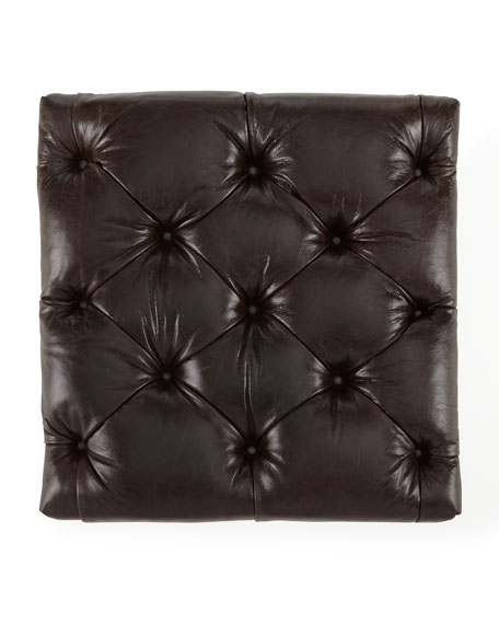"Davidson 94"" Slab Seat Chesterfield Sofa"