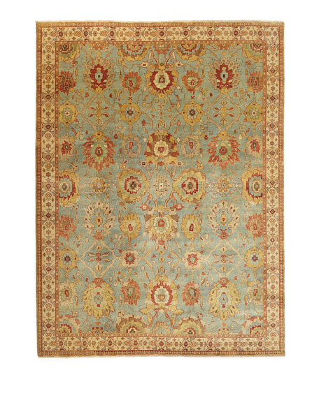 Oasis Antique Weave Knotted Rug, 9' x 12'
