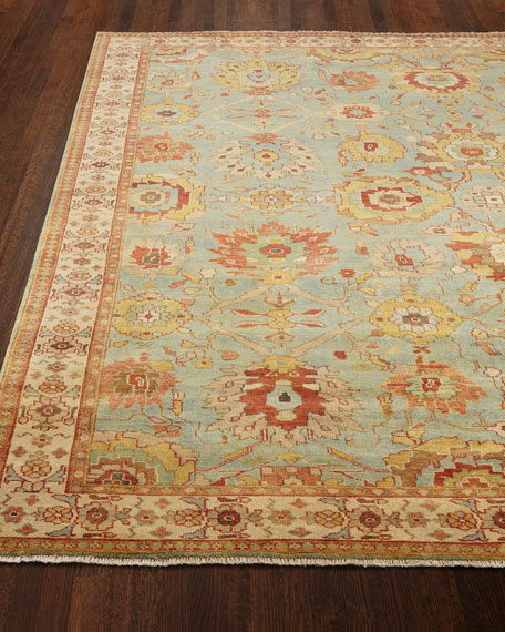 Exquisite Rugs Oasis Antique Weave Knotted Rug, 10'