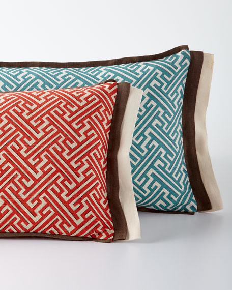 Trellis Lumbar Pillow, 13