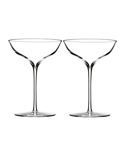 Elegance Champagne Coupe  Set of 2