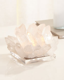 Clear Quartz Votive