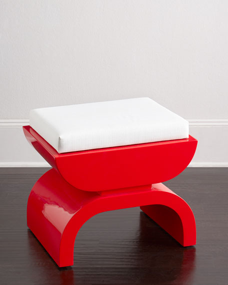 Perkins Lacquer Stool