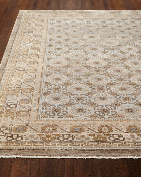 Exquisite Rugs Torin Light Rug, 6' x 9'