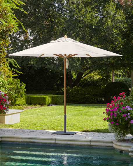 Oyster Standard Canopy Outdoor Umbrella