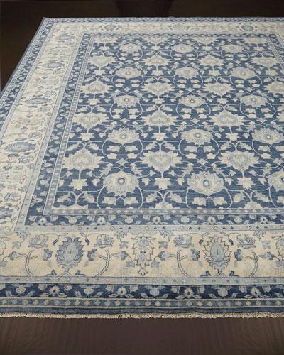 Blue Lark Rug, 8' x 10'